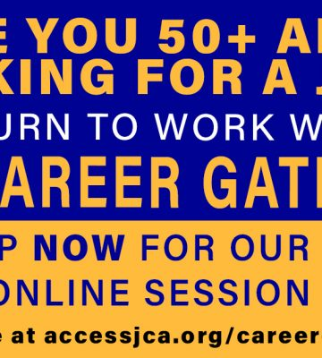 Virtual Career Gateway program for 50+ professional job seekers