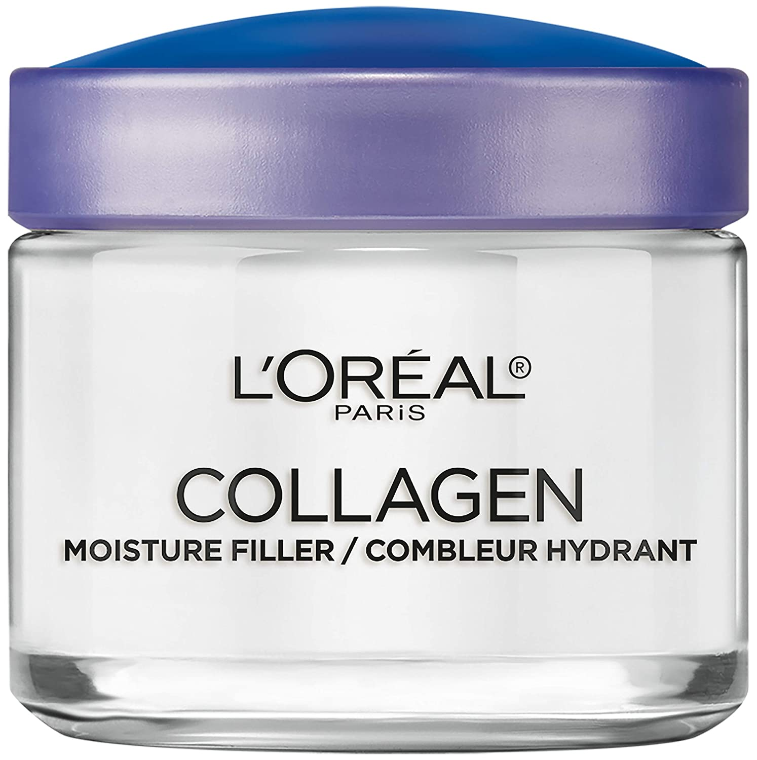Collagen Face Moisturizer by L'Oreal Paris Skin Care I Day and Night Cream I Anti-Aging