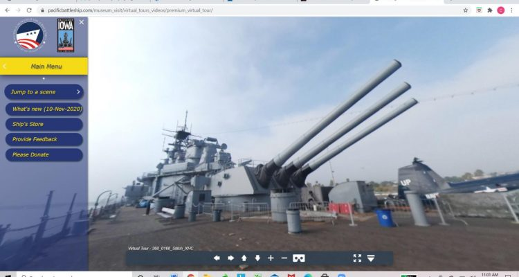 Battleship IOWA Virtual Sessions