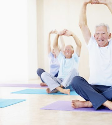 Virtual Yoga Community yoga class