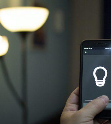 Iluminación y bombillas inteligentes