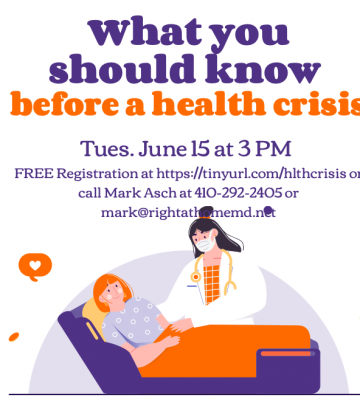 WHAT YOU SHOULD KNOW BEFORE A HEALTH CRISIS