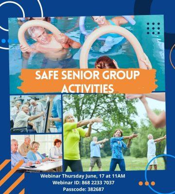 Safe Senior Group Activities